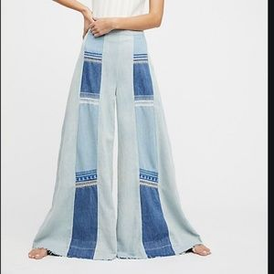 Free People Willa Pieces Wide Leg